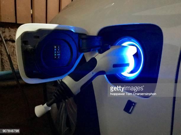 Hybird electric car charging