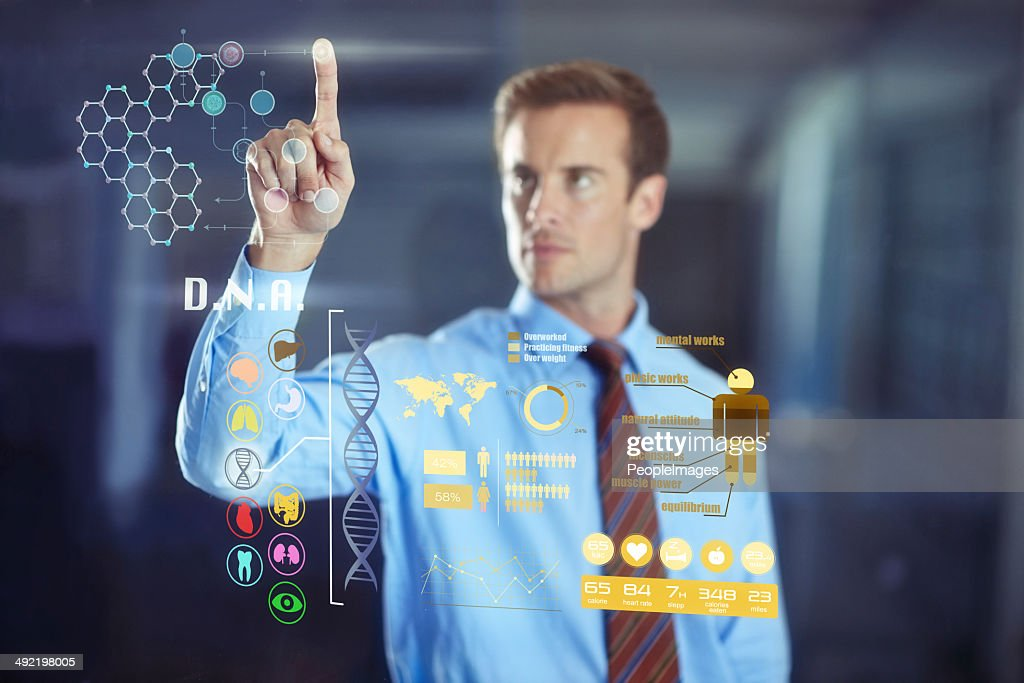 Hybrid business technology: Welcome to the future! : Stock Photo