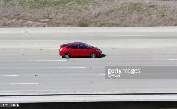 Hybrid Car (Rot
