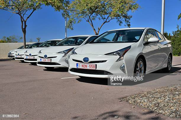 Hybrid vehicles on the parking