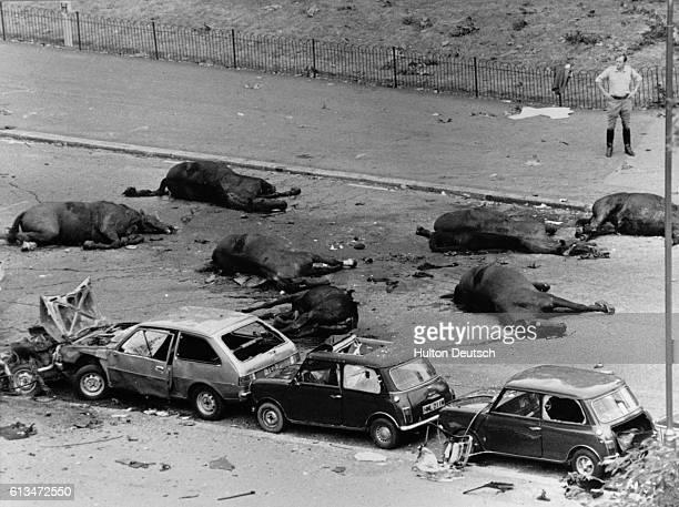Hyde Park bombings 1982 dead horses