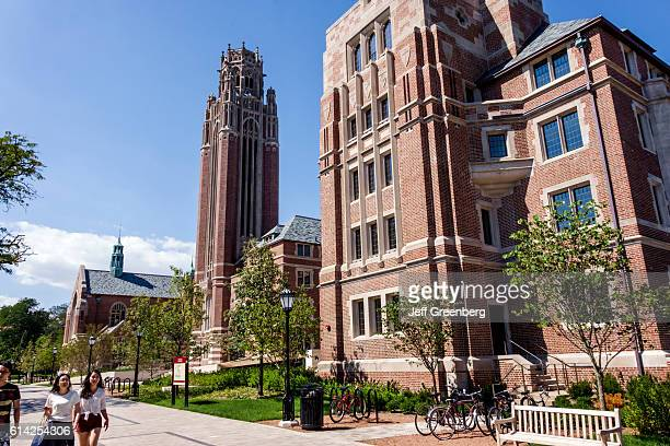 Hyde Park campus, University of Chicago.