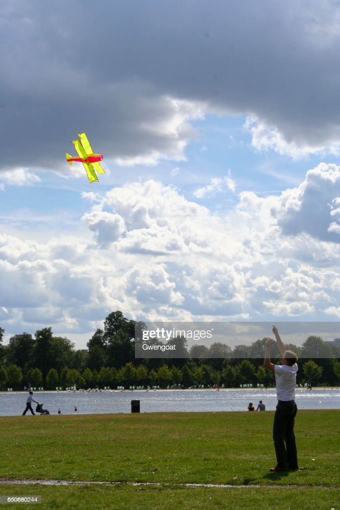 Hyde Park in London : Stock Photo