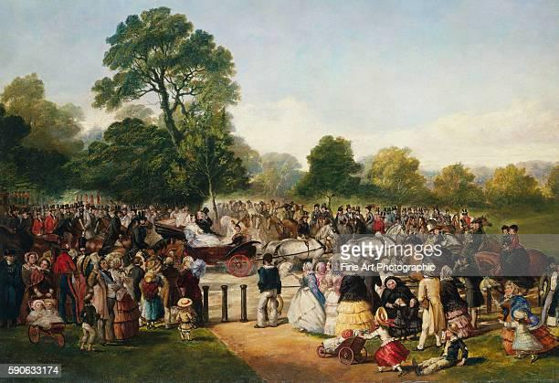 Hyde Park London England Entrance of Queen Victoria by Thomas Musgrave Joy