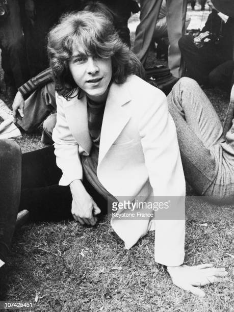 Hyde Park Mick Taylor The New Memeber Of The Rolling Stones Group At London In United Kingdom On June 13Rd 1969