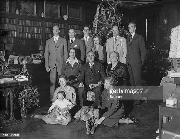 The Roosevelts President Roosevelt died of a cerebral hemorrhage on April 12th at Warm Springs GA at the age of 63 years In this photo made on...