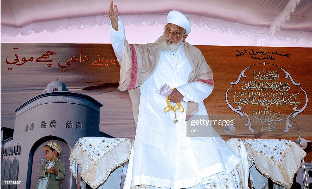 Religious and Temporal head of The Dawoodi Bohra Community His