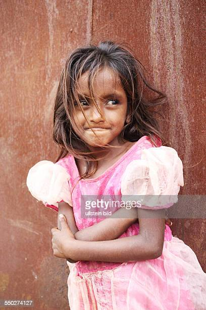 IND Hyderabad Kinder in einem Armenviertel