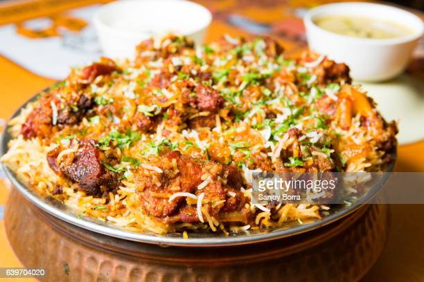 Hyderabadi biryani is a form of biryani, from Hyderabad, India.It is prepared in the form of kachay gosht ki biryani and dum ki biryani.