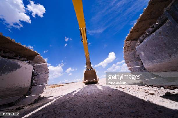 Matériel lourd Hydraulic Excavator Pelle