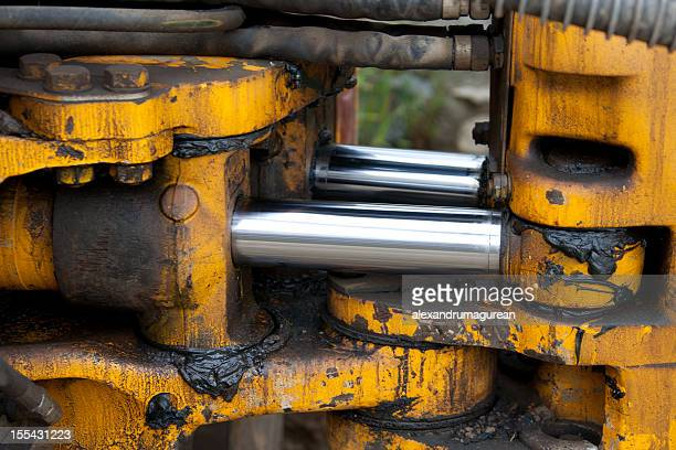 hydraulic piston - piston stock pictures, royalty-free photos & images