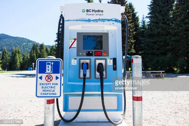 BC Hydro Electric Car Charging Station