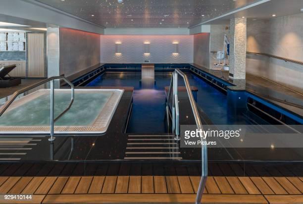 Hydro in the spa Norwegian Cruise Ship _x0013_ The Escape Southampton United Kingdom Architect SMC Design 2015