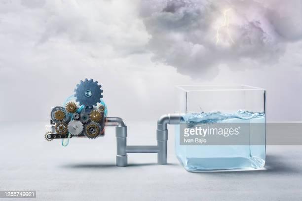 水力発電コンセプト - タービン ストックフォトと画像