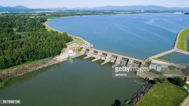 hydroelectric power plant - civil engineering stock pictures, royalty-free photos & images