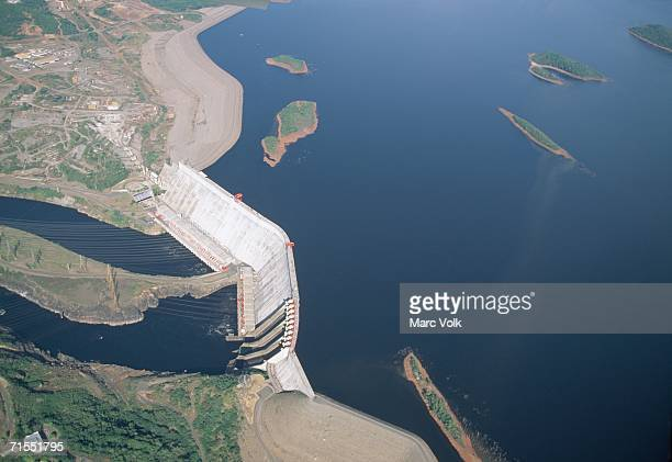 Hydroelectric power station, Guri Dam, Venezuela
