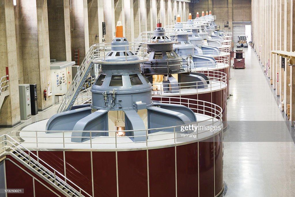 水力発電所タービン、フーバーダム燃料発電 : ストックフォト