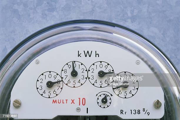 Hydroelectricity meter