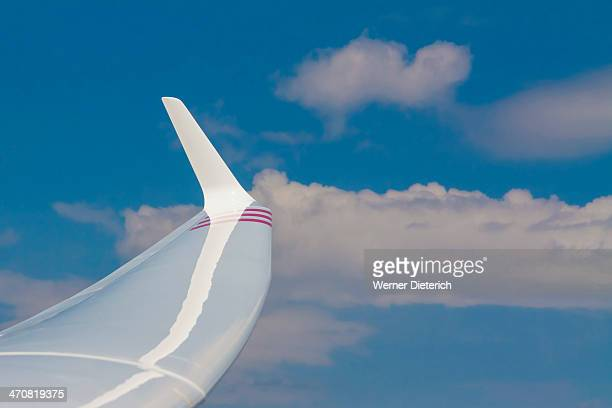 Hydrofoil of a full size glider
