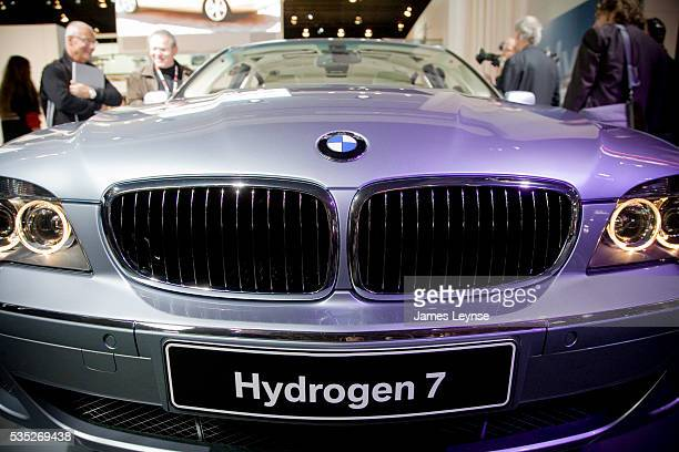 Bmw Hydrogen 7 Stock Photos And Pictures Getty Images