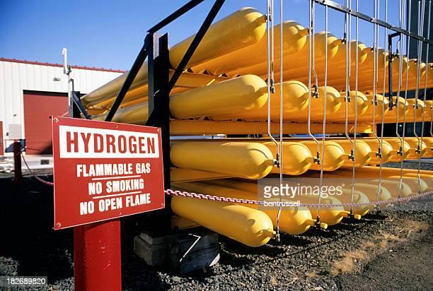 Wasserstoff Gas Tank-Tops