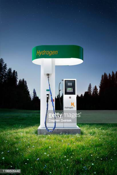 hydrogen station - fuel cell stock pictures, royalty-free photos & images