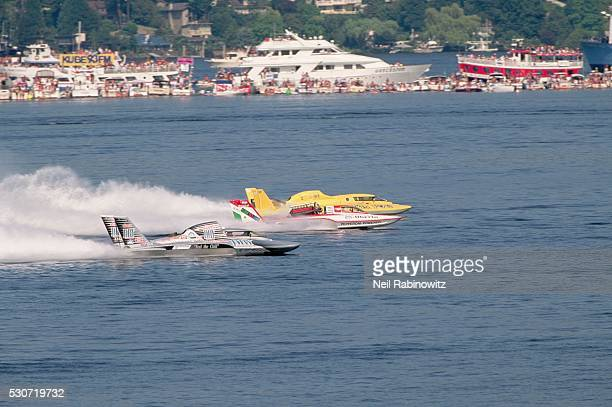 hydroplane race - hydroplane racing stock pictures, royalty-free photos & images