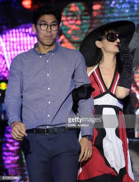 Hyeon Chung of South Korea attends the Next Gen ATP Final draw ceremony during the NextGen ATP Finals Launch Party on November 5 2017 in Milan Italy