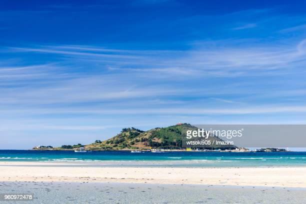 Hyeopjae Beach (Famous travel destination) in Jeju Island