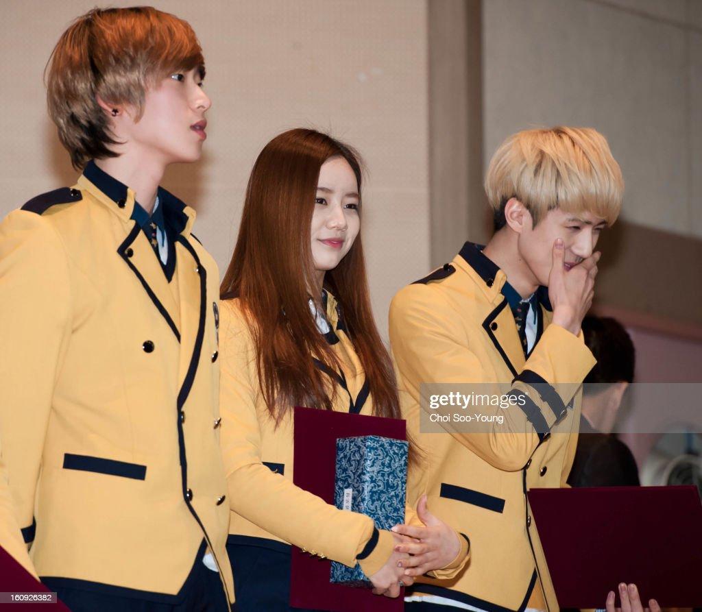 Seoul Arts High School Graduation