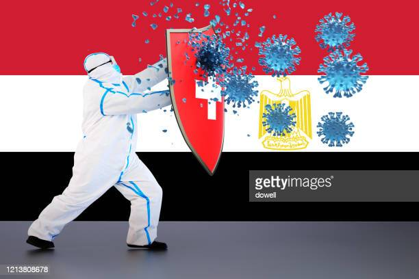 hygienic shield protecting from coronavirus,3d render - egypt stock pictures, royalty-free photos & images