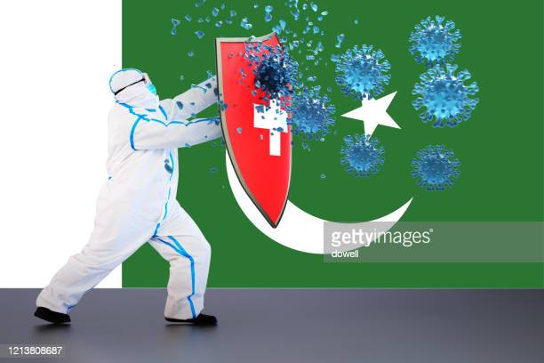 hygienic shield protecting from coronavirus,3d render - pakistan stock pictures, royalty-free photos & images