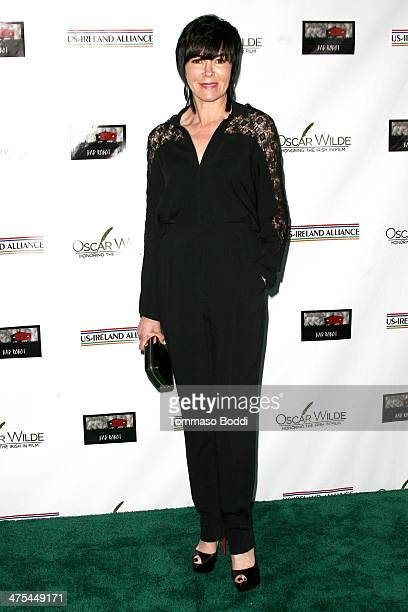 Hylda Queally attends the USIreland alliance preAcademy Awards event held at Bad Robot on February 27 2014 in Santa Monica California