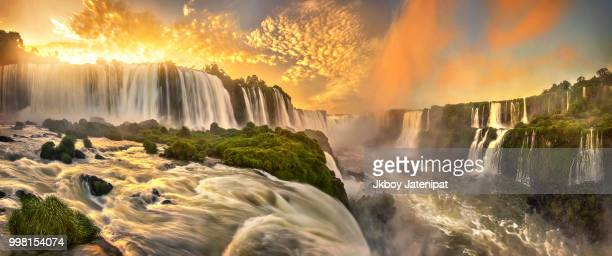 hymn of iguazu - paraguay stock pictures, royalty-free photos & images