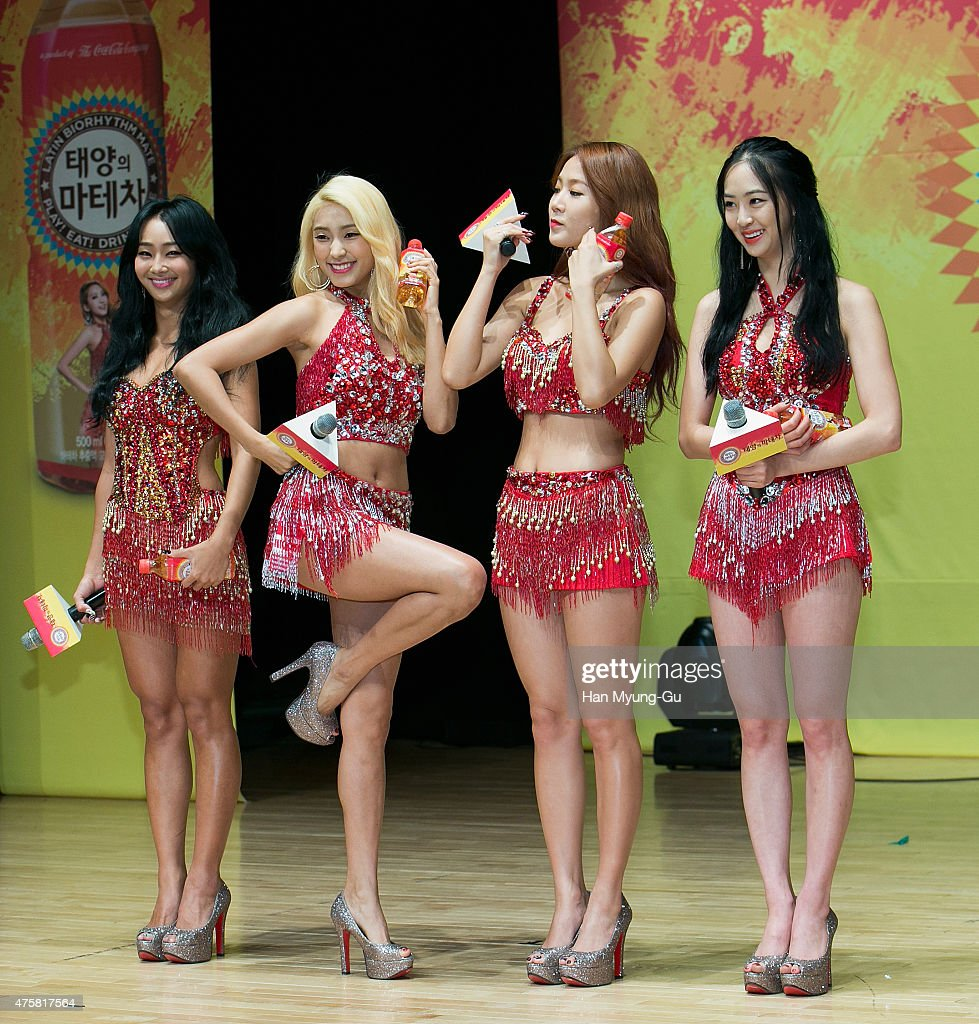 Coca Cola - Mate Body Show Time With SISTAR : News Photo
