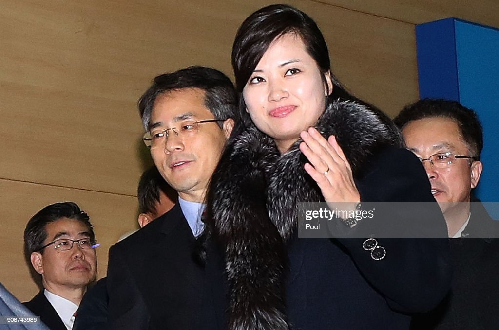 North Korean Advance Team for Olympics to Visit South Korea : News Photo