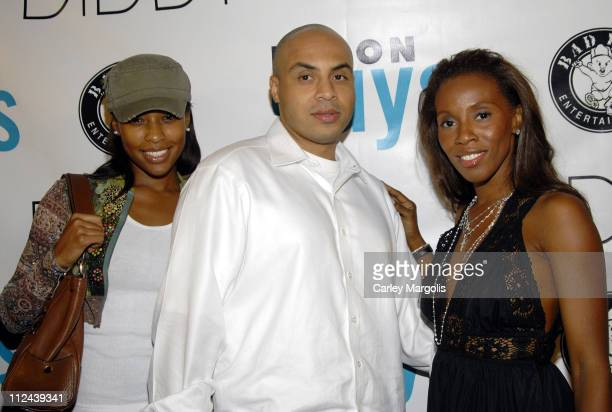 Hype Williams June Ambrose and guest during Fall 2006 Issue Launch of Nylon Guys Magazine Hosted by Sean Diddy Combs at Bungalow 8 in New York City...