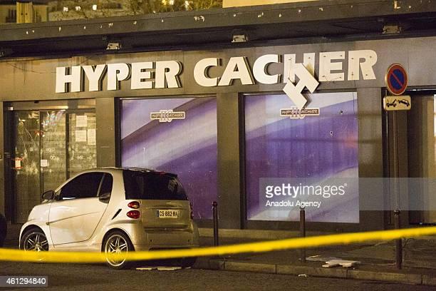 HyperCacher supermarket at Porte de Vincennes in Paris France on January 10 2015