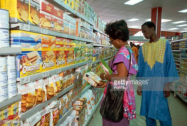 Hypermarket In Abidjan Ivoiry Coast In February 1990 Prima supermarket