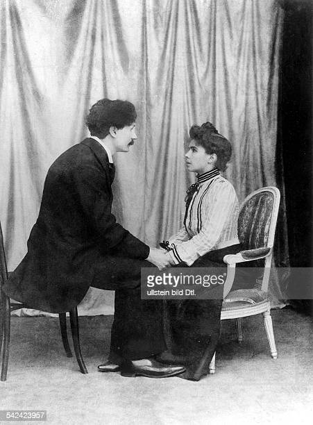hypnosis man and woman 1901