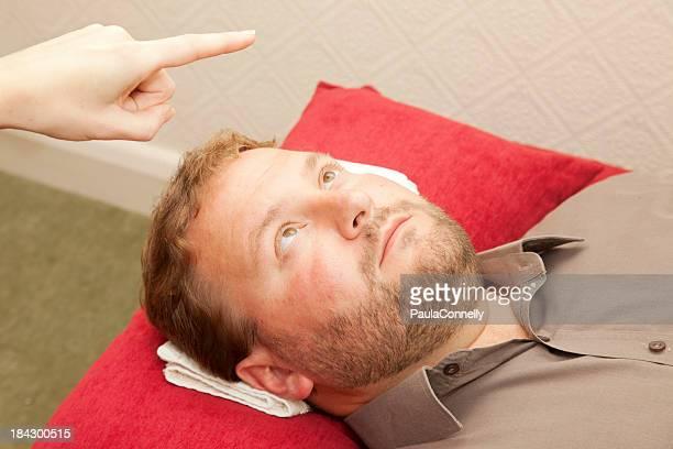 Hypnotherapy Eye Fixation
