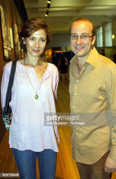 Hypnotist Paul McKenna at a special preview of the new 'Titanic The Artefact Exhibition' at the Science Museum London