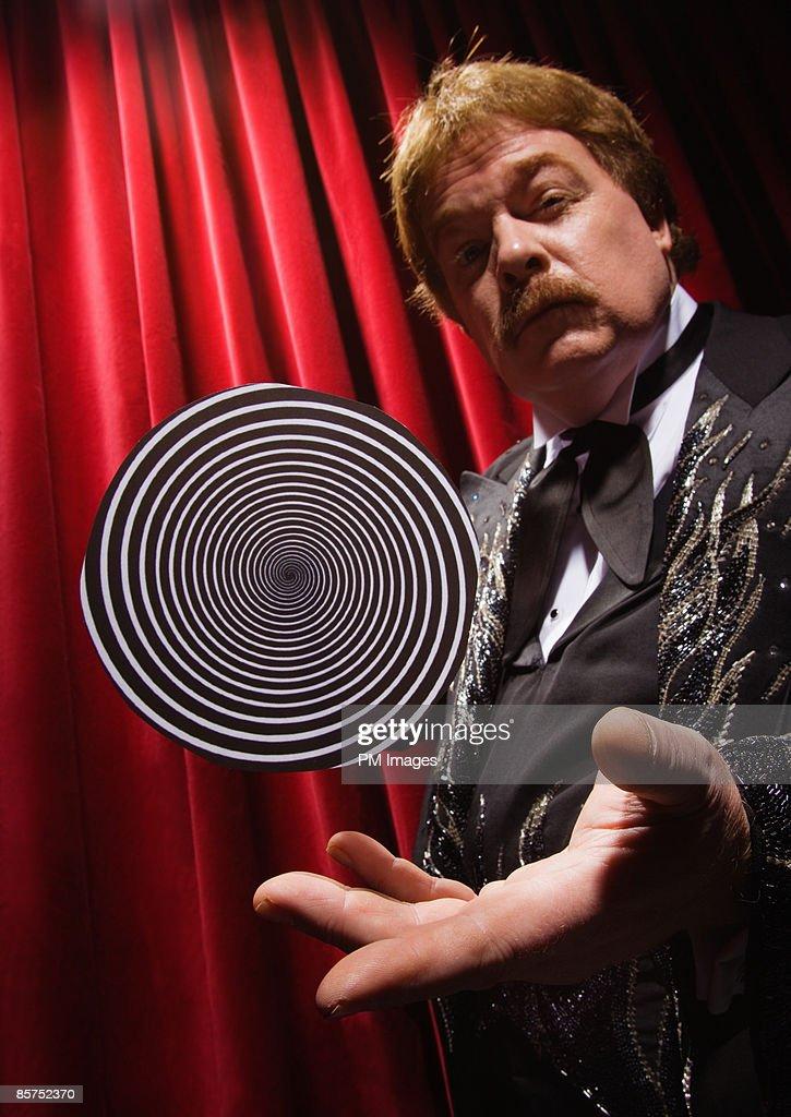 Hypnotist trick. : Foto de stock