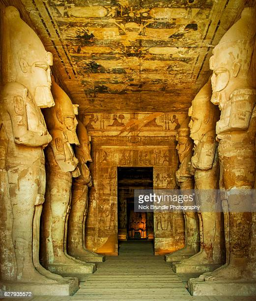 Hypostyle hall, Great Temple of Abu Simbel