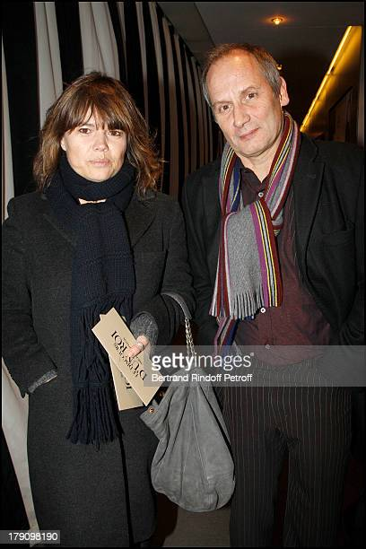 Hyppolite Girardot and wife Kristina Larsen at The Paris Premiere Of Le Discours D'Un Roi At Ugc Normandie Followed By A Reception At The British...