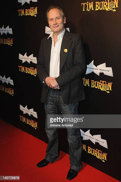 Hyppolite Girardot attends the 'Tim Burton The Exhibition' launch cocktail at la cinematheque on March 5 2012 in Paris France