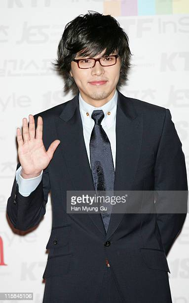Hyun Bin during The 42nd Annual Paeksang Arts Awards - Arrivals at The National Theater of Korea in Seoul, _, South Korea.