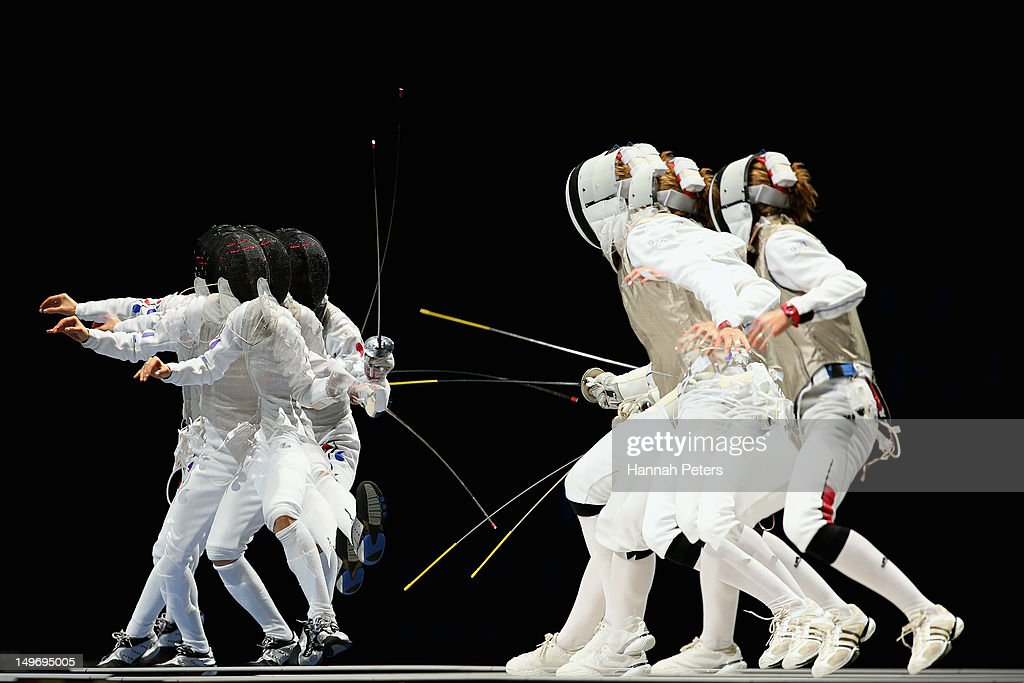 Olympics Day 6 - Fencing : News Photo
