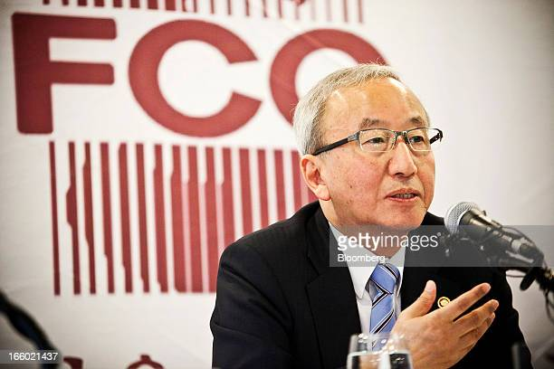 Hyun Oh Seok South Korea's finance minister speaks during a news conference at the Seoul Foreign Correspondents' Club in Seoul South Korea on Monday...