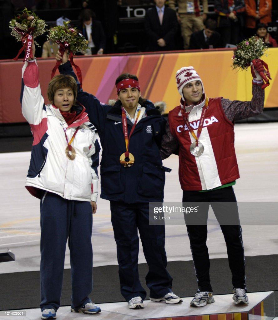 Torino 2006 Olympic Games - Short Track - Men's 500 m - February 25, 2006